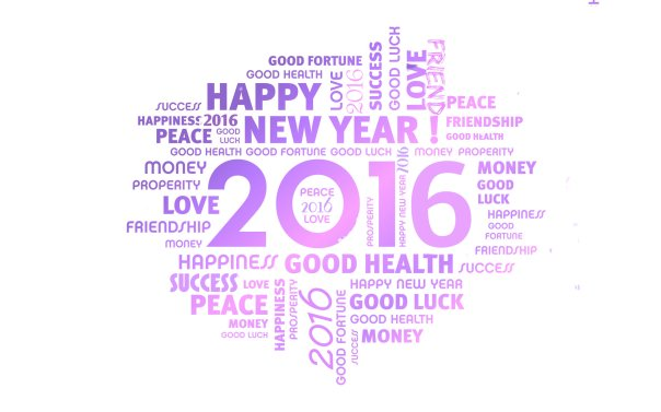 Happy New Year for 2016