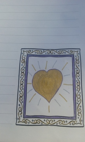 Beautiful Heart Frame
