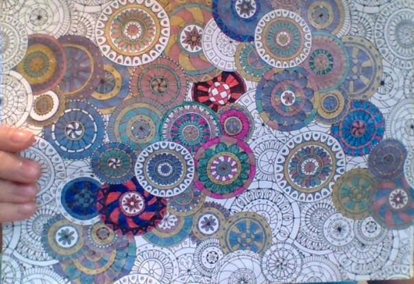 Artwork - Design - Multicolored Medallions