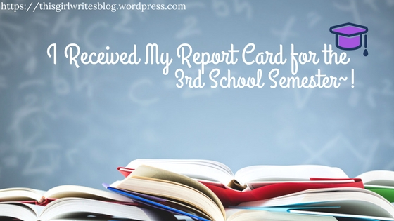 Mimi14Senpai received her school report card