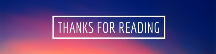 Thanks for Reading (2)
