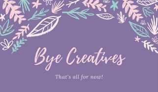 Bye Creatives